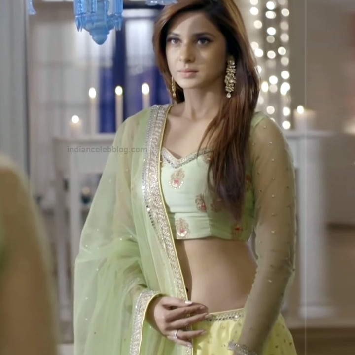 Jennifer Winget Hindi TV Actress YTDS2 13 Hot Lehenga Choli pics