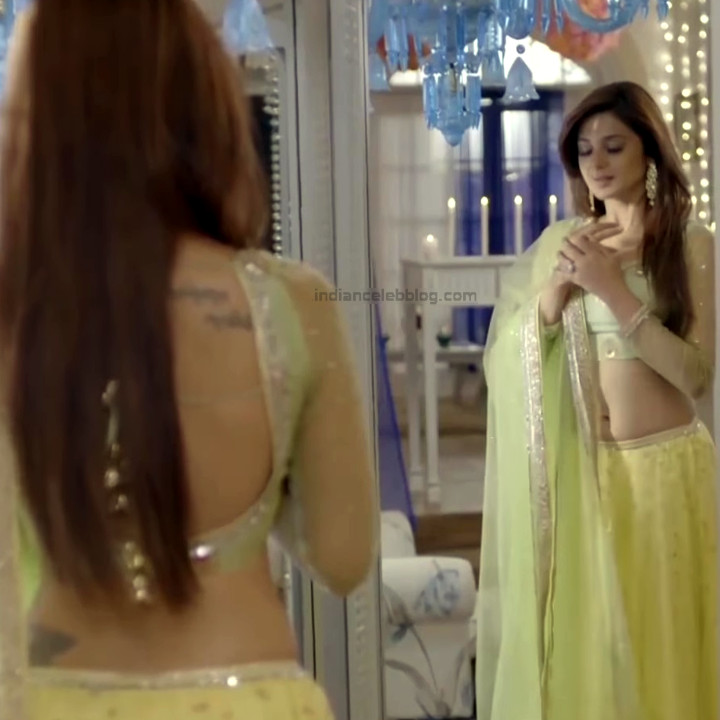 Jennifer Winget Hindi TV Actress YTDS2 14 Hot Lehenga Choli pics