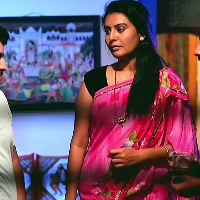 Kannada Serial actress MCmpl3 2 hot Saree pics