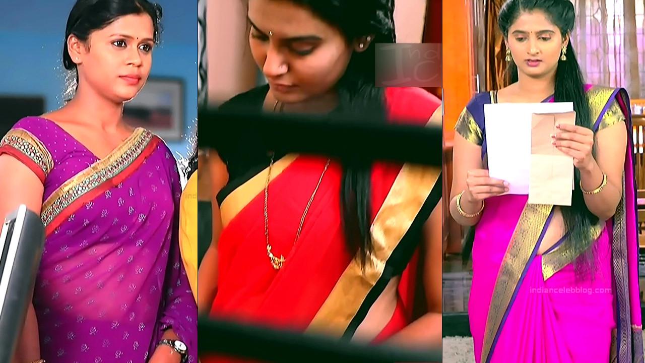 Kannada TV serial actress HD caps in sari Mix gallery