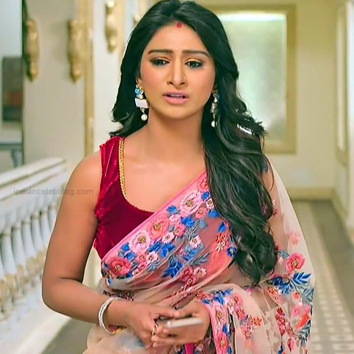 Mohena singh hindi serial actress Yeh RKKHS3 9 hot saree pics