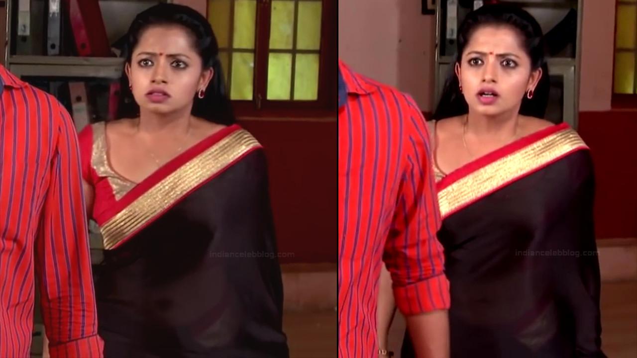 Navya Swamy Telugu TV Actress NaaPMS1 11 hot sari photos