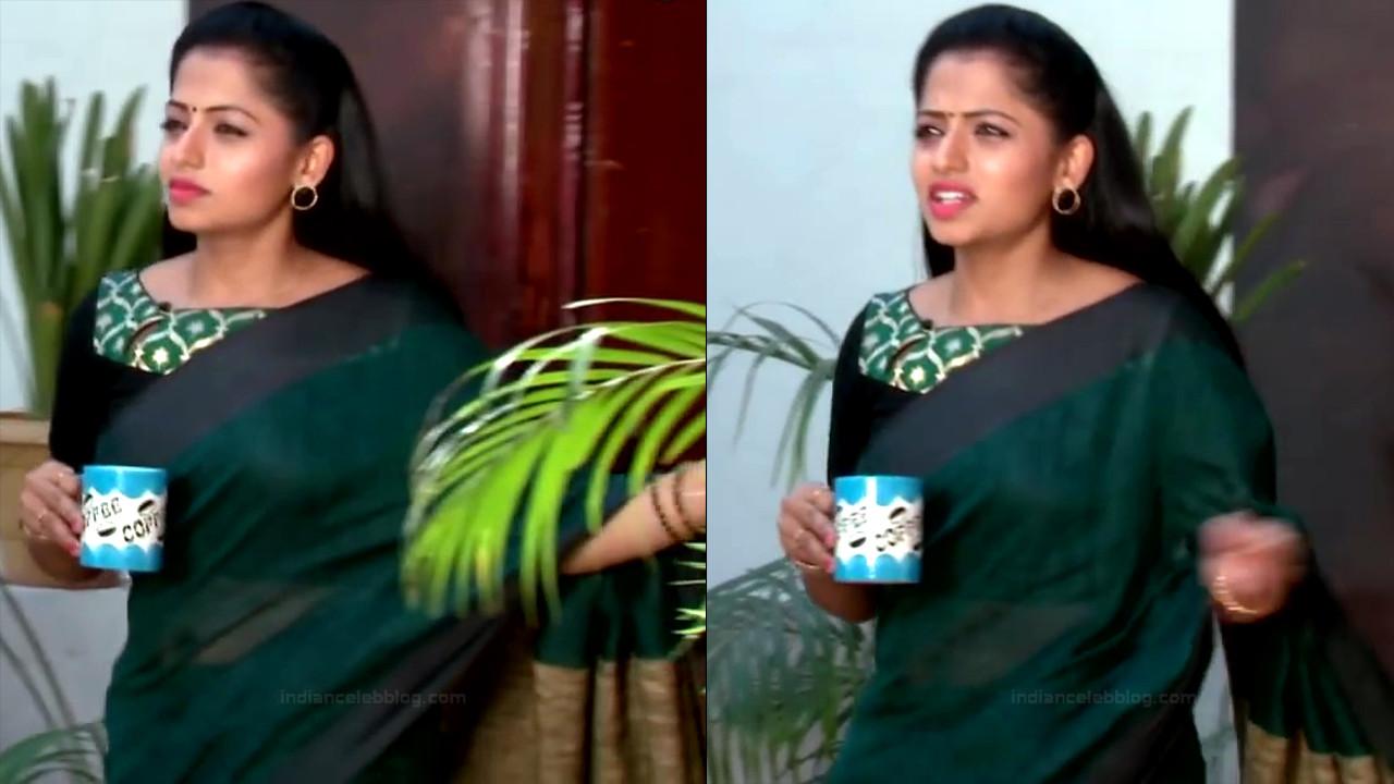 Navya Swamy Telugu TV Actress NaaPMS1 13 hot sari photos
