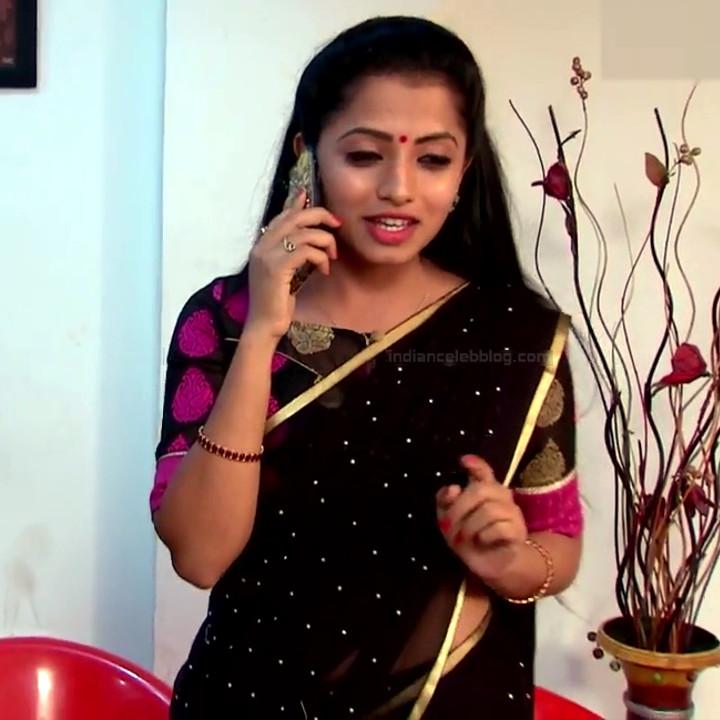 Navya Swamy Telugu TV Actress NaaPMS1 15 hot sari photos