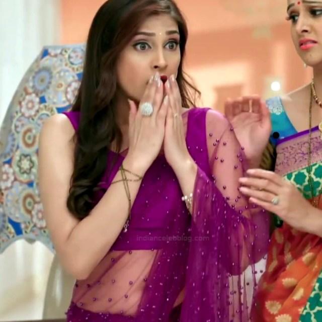 Reena Aggarwal hindi TV actress KyaHMPS1 19 hot saree pics