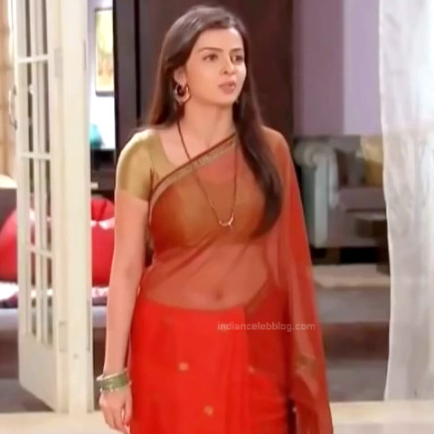 Shrenu Parikh Hindi TV Actress YTComp3 15 Hot saree navel pics