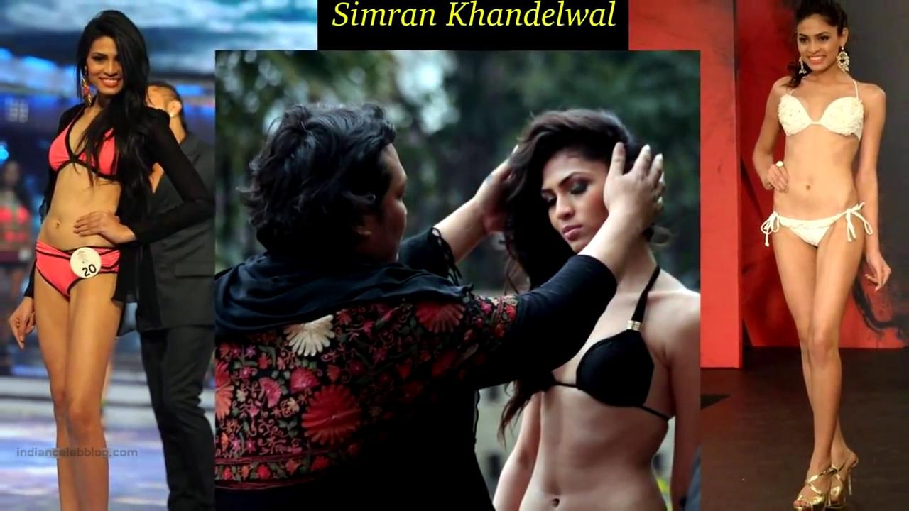 Simran Khandelwal Miss India 2014 Bikini Photoshoot Pics