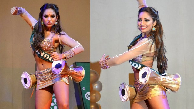 Sobhita Dhulipa India Miss Earth 2013_14