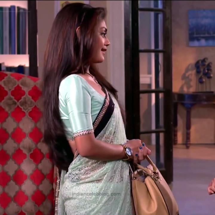 Sreejita De Hindi TV Actress TumhiHBS2 8 Hot Saree Photo