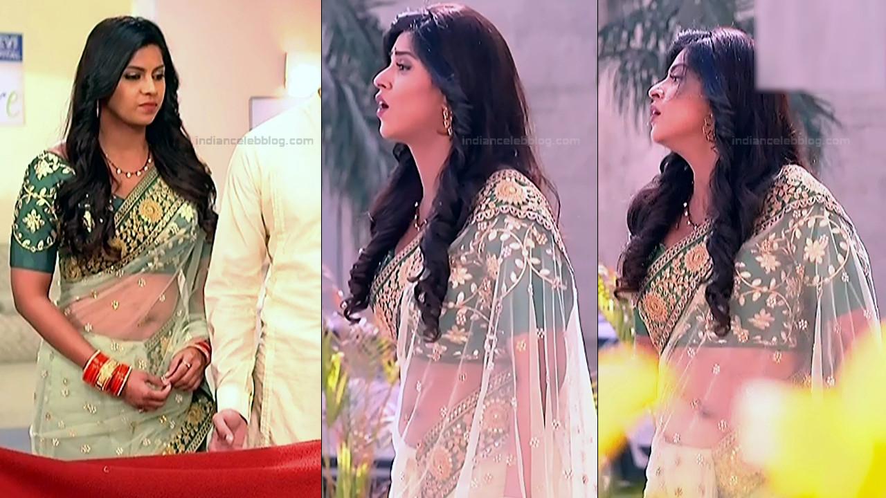 Swarda Thigale Hindi serial actress Savitri DCHS3 4 hot sari pics