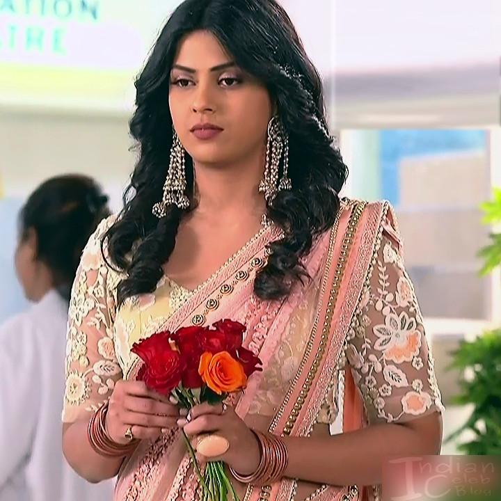 Swarda Thigale Hindi serial actress SavitriDCHS2 3 hot sari photos