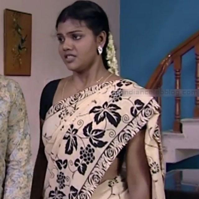 Telugu TV Actress Maa Nanna Art1-S1 1 Hot Saree Caps