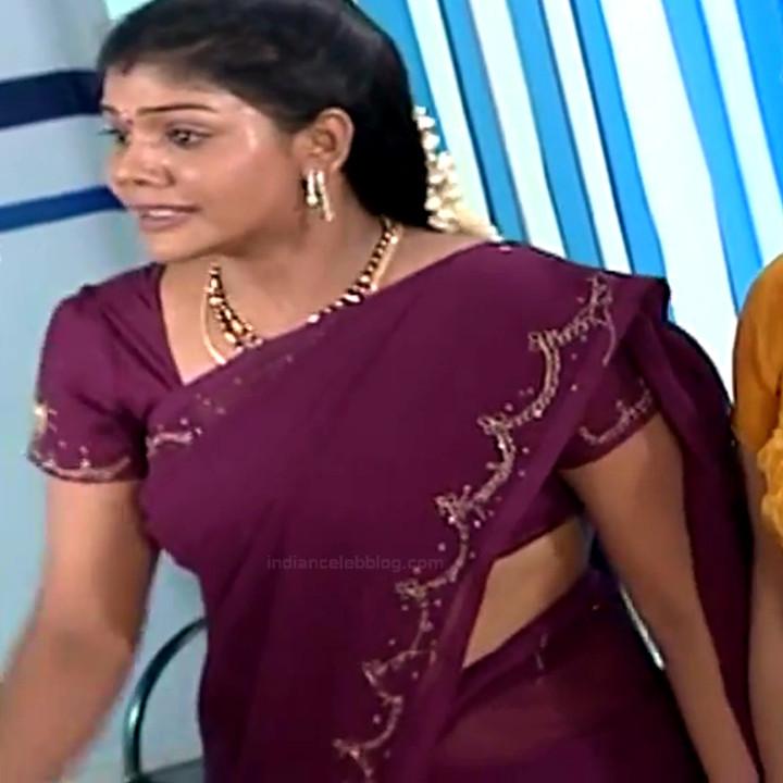 Telugu TV Actress Maa Nanna Art1-S1 15 Hot Saree Caps