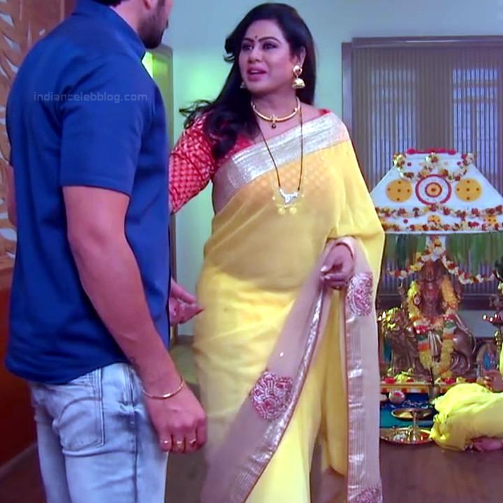 Telugu TV serial mature actress Comp2 12 hot saree photo