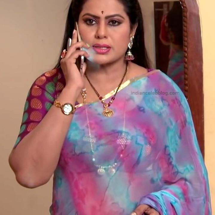 Telugu TV serial mature actress Comp2 23 hot saree photo