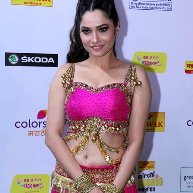 Ankita Lokhande Hindi TV actress CelebTS1 2 hot event photos