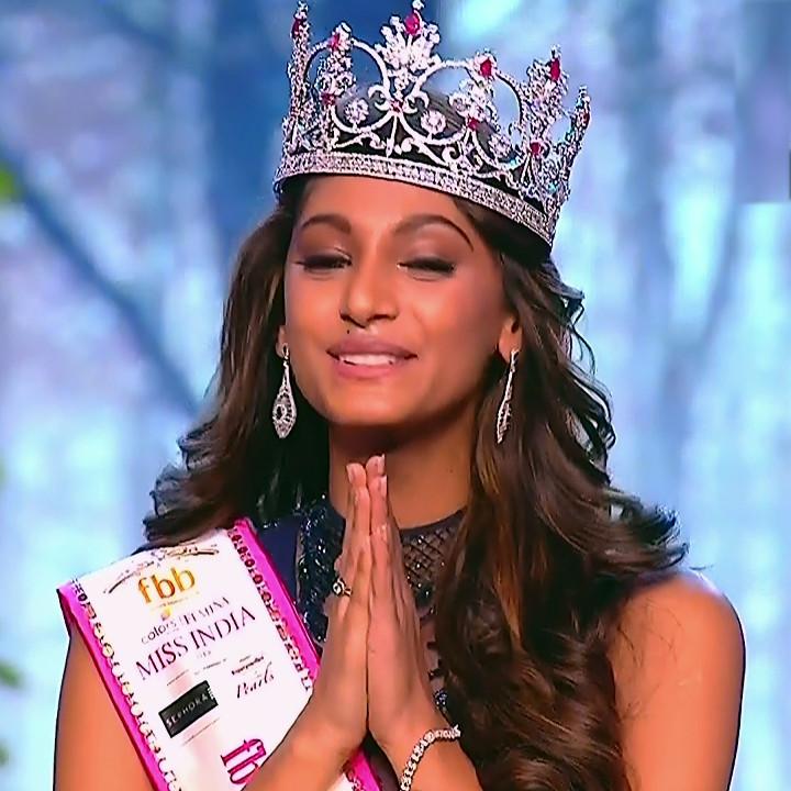 Anukreethy Vas Miss India 2018 Final 11