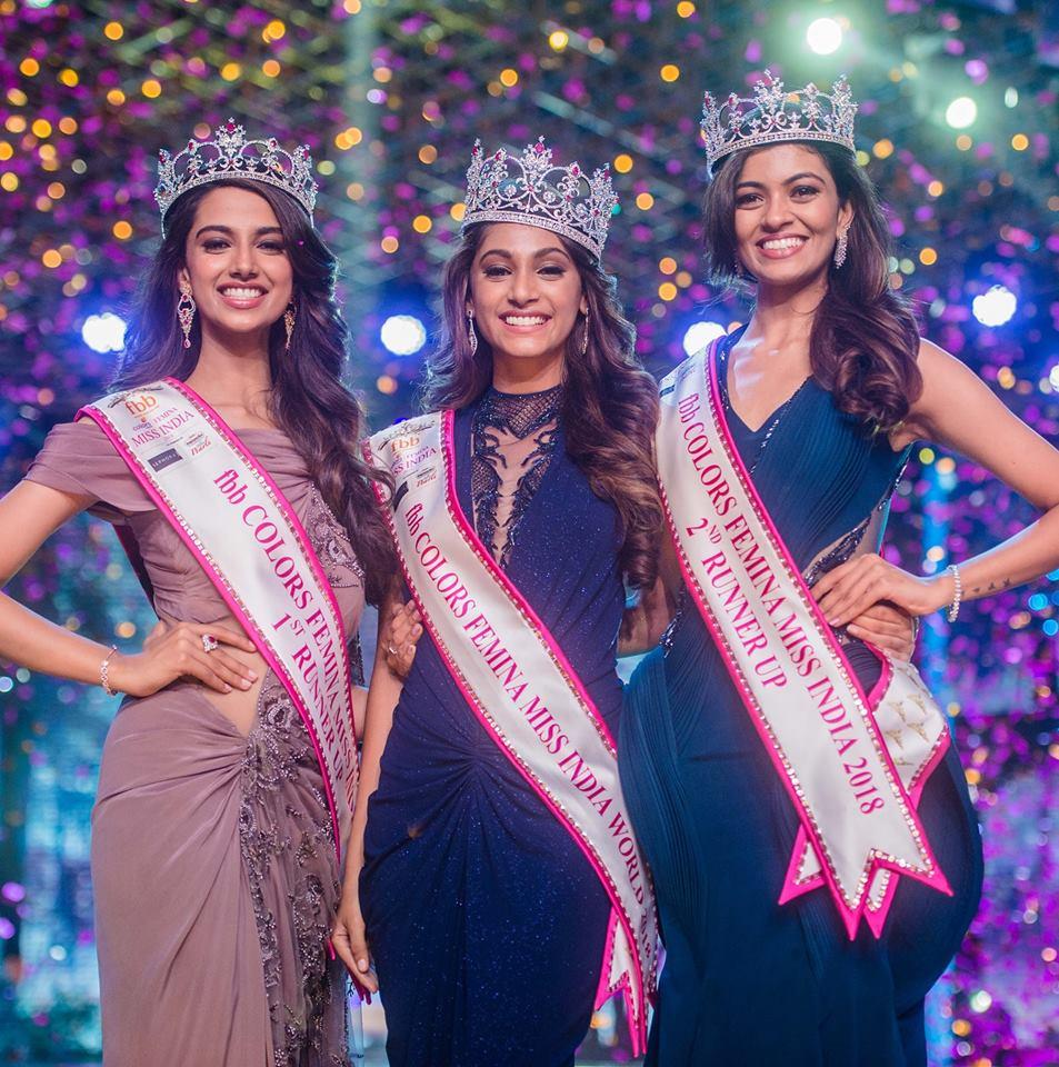 Anukreethy Vas Miss India 2018 Final 12