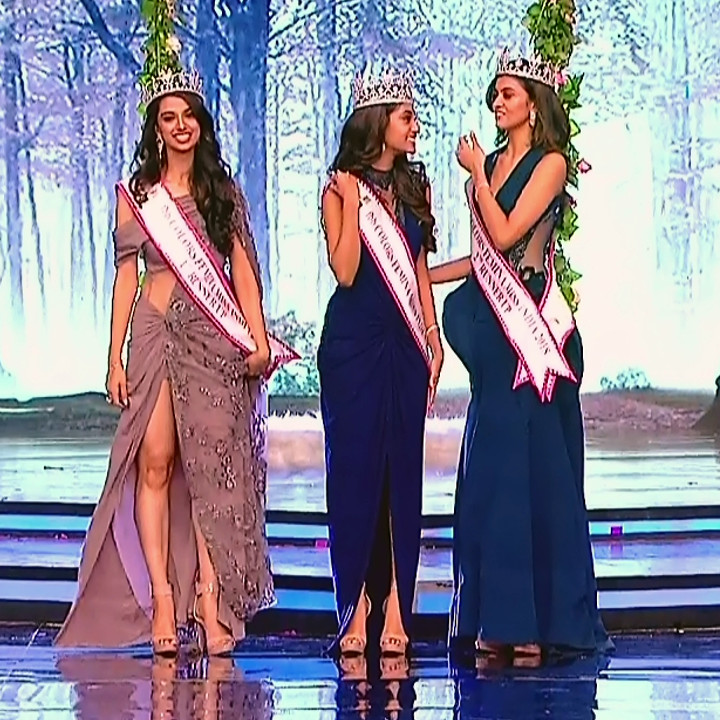 Anukreethy Vas Miss India 2018 Final 14