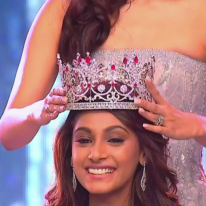 Anukreethy Vas Miss India 2018 Final 5