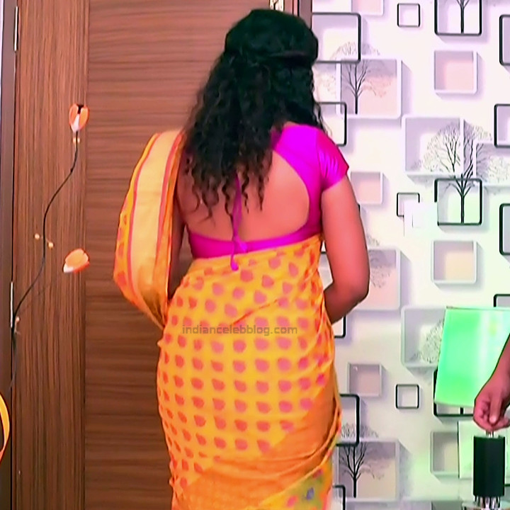 Apoorva Bharadwaj Kannada Serial Sathyam SSS1 18 hot saree photo