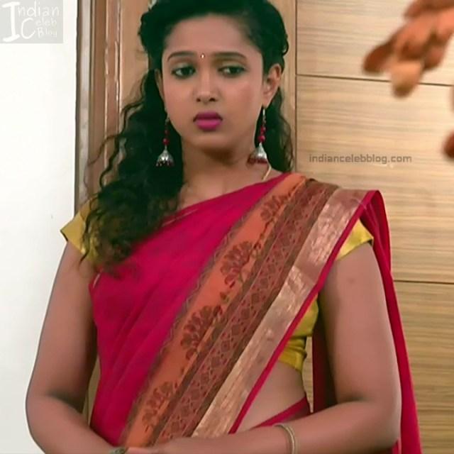 Apoorva Bharadwaj Kannada Serial Sathyam SSS1 22 hot saree photo