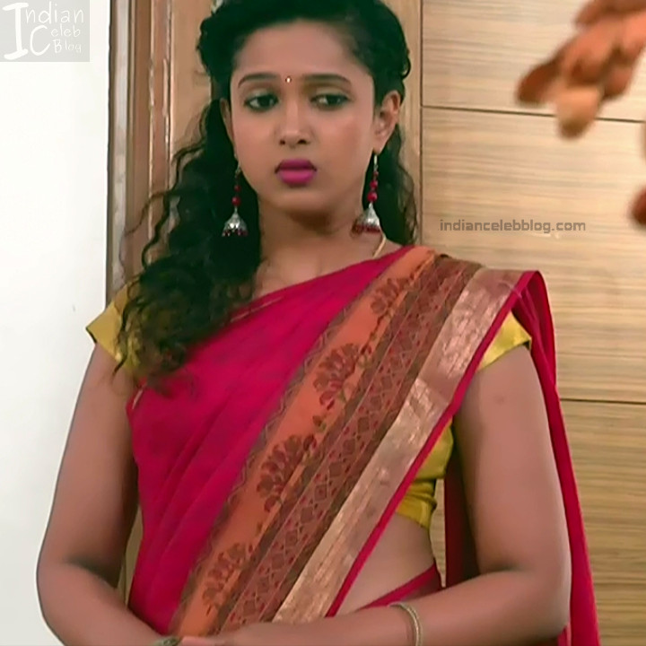 Apoorva Bharadwaj Kannada Serial Sathyam SSS1 22 hot saree photo
