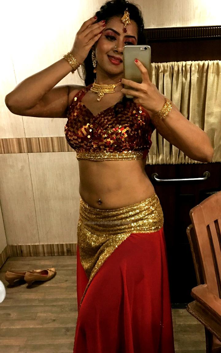 Lasya Nagraj Kannada Actress 13 hot pierced navel pic