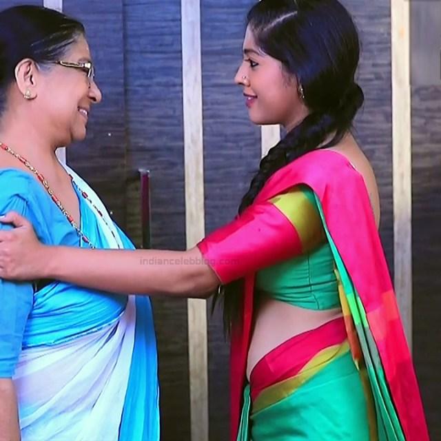 Meghana Shankarappa Kannada TV actress Kinnari S2 1 hot saree pics