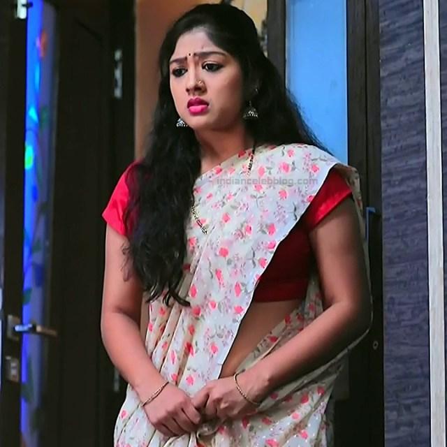 Meghana Shankarappa Kannada TV actress Kinnari S2 12 hot saree photo