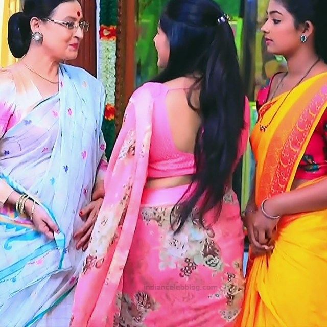 Meghana Shankarappa Kannada TV actress Kinnari S2 17 hot saree pics