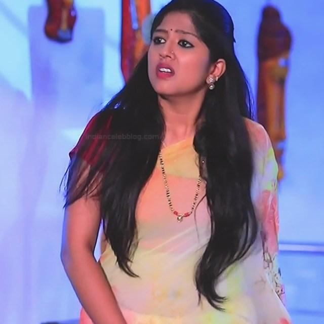 Meghana Shankarappa Kannada TV actress Kinnari S2 22 hot saree pics