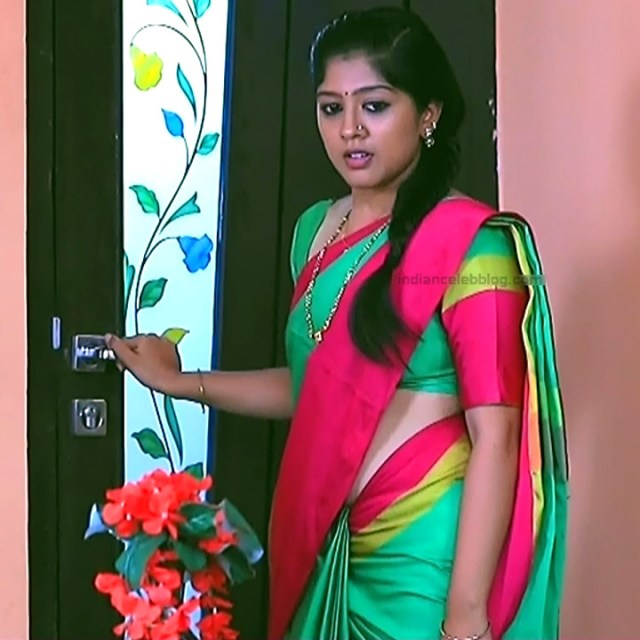 Meghana Shankarappa Kannada TV actress Kinnari S2 5 hot saree pics