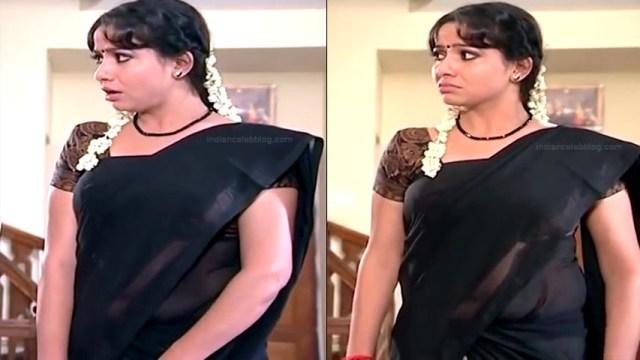 Minnal Deepa Tamil TV actress PonDTS1 2 hot saree photos