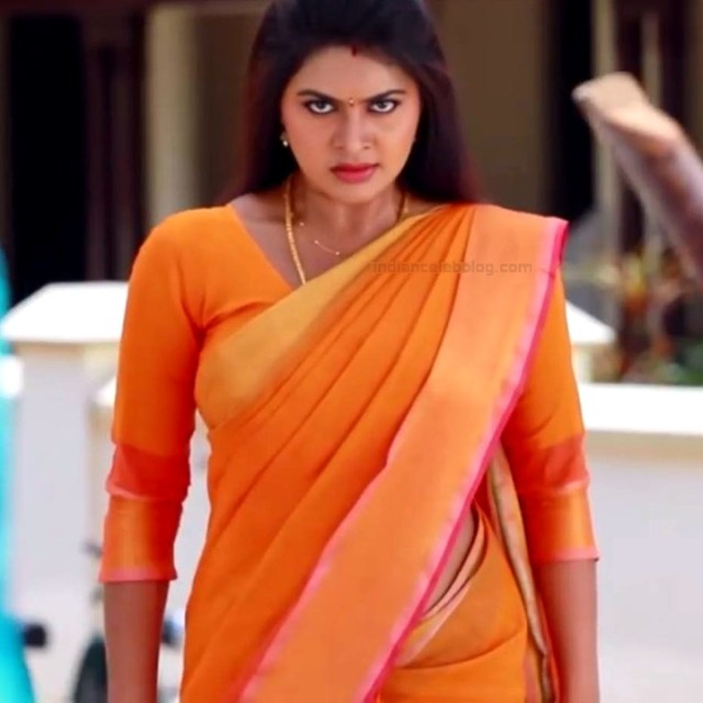 Rachitha Mahalakshmi Saravanan MS1 1 hot saree caps