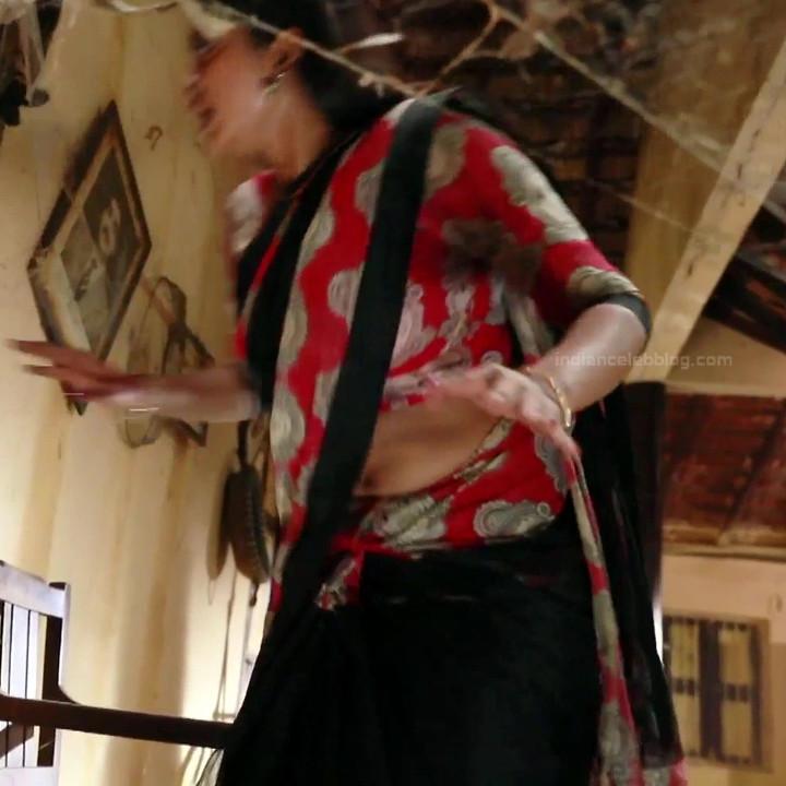 Rachitha Mahalakshmi Saravanan MS1 7 hot saree navel caps
