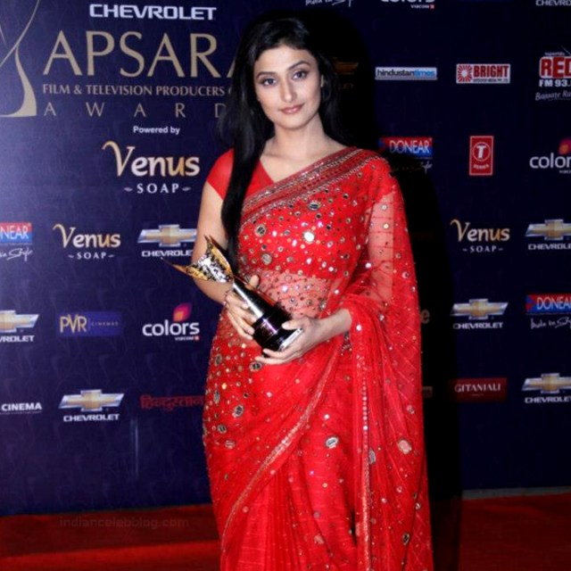 Ragini Khanna Hindi TV Actress CelebTS1 14 hot Saree photos