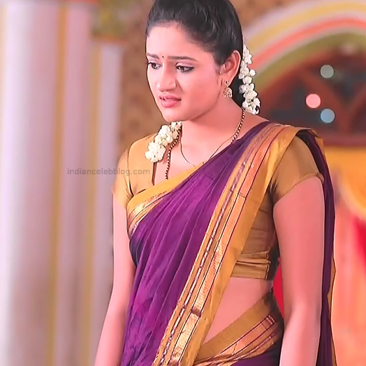 Ranjani Raghavan Kannada TV actress PuttGMS2 11 hot sari pics