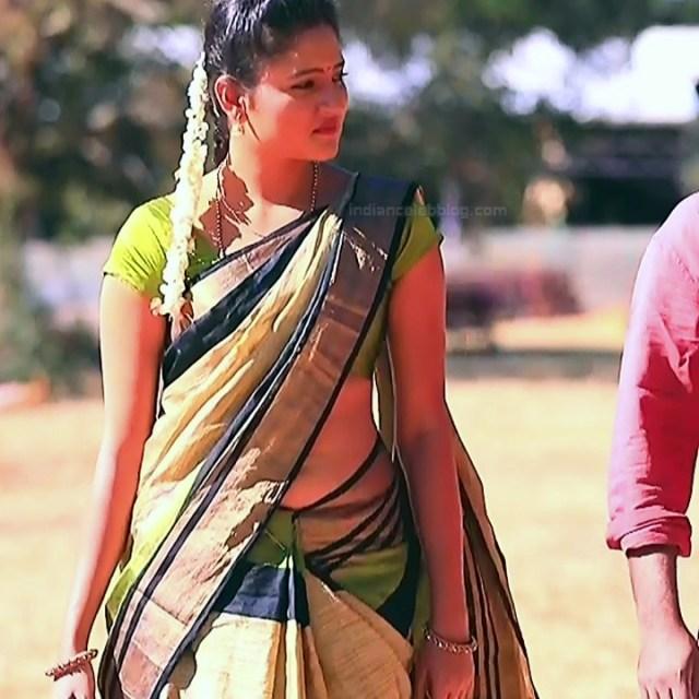 Ranjani Raghavan Kannada TV actress PuttGMS2 17 hot saree photos