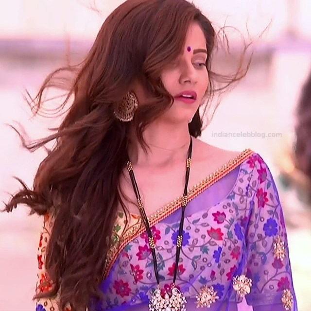 Rubina Dilaik Hindi TV actress ShaktiAS5 7 hot sari photo
