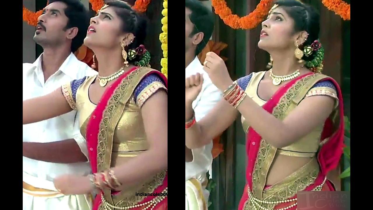 Sangeetha Kamath shravya karthika deepam actress 19 hot saree pics