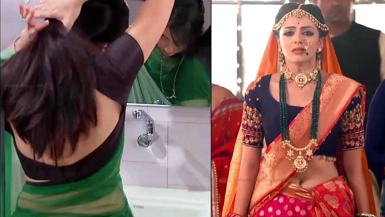 Shrenu Parikh sexy sareeless scene, hindi tv hd caps