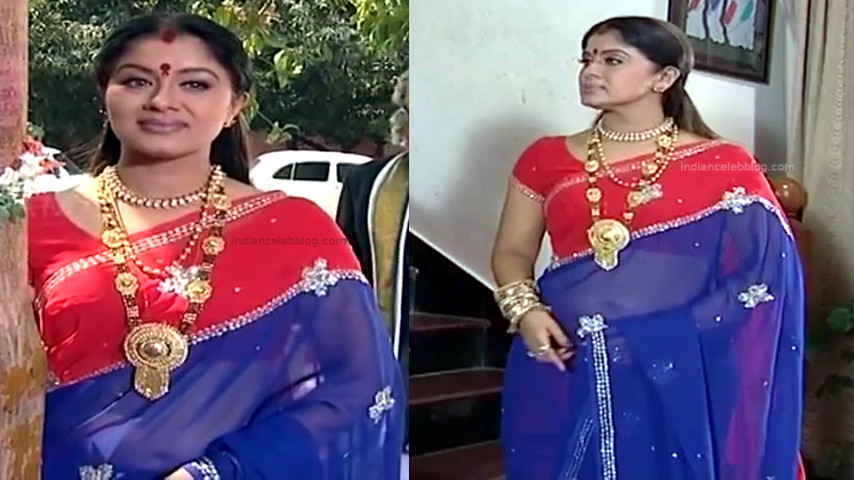 Sudha chandran Tamil TV actress PonDTS1 4 hot sari pics