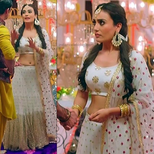 Surbhi Jyoti Hindi TV actress Naagin S1 2 hot lehenga choli pics