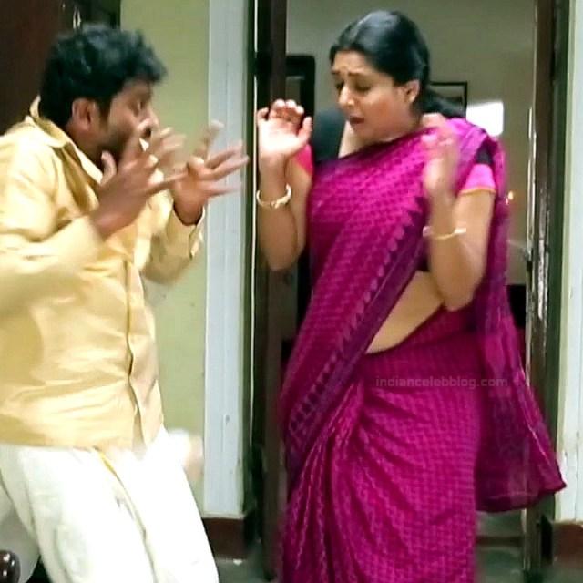 Syamantha Kiran Tamil tv actress Saravanan MS1 4 hot saree photo