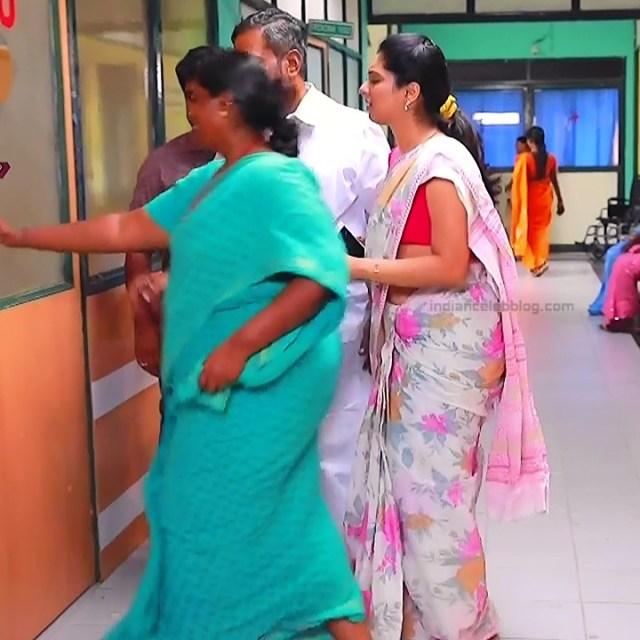 Syamantha Kiran Tamil tv actress Saravanan MS1 7 hot sari pics