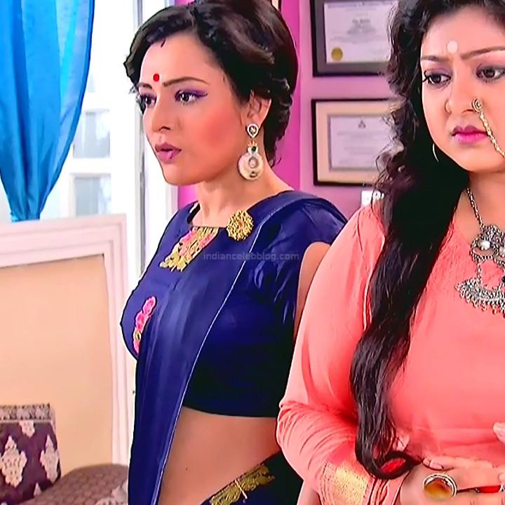 Bengali TV serial actress CompGS1 18 hot saree photo