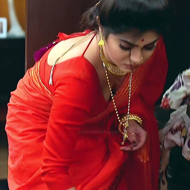 Bengali TV serial actress CompGS1 2 hot saree pics