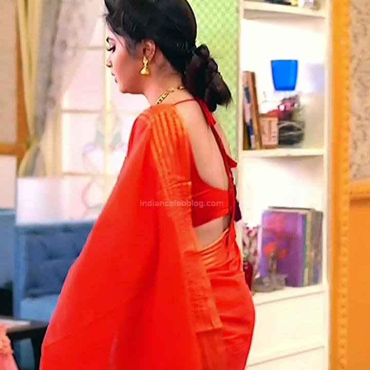 Bengali TV serial actress CompGS1 4 hot saree pics