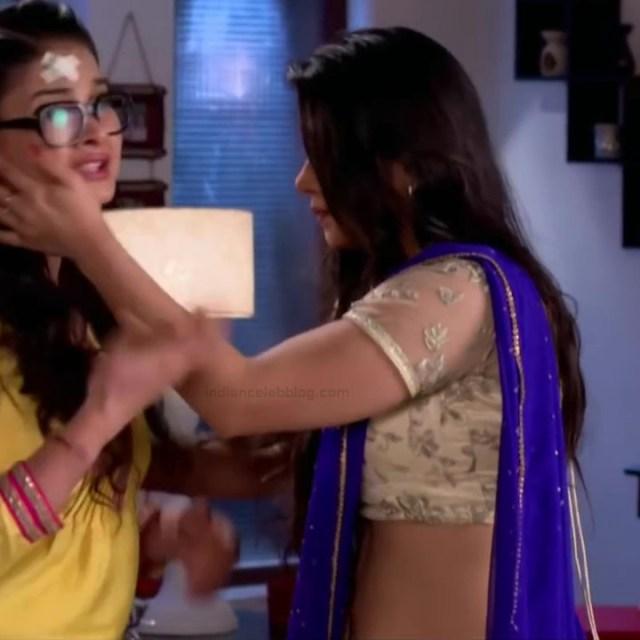Chandni Bhagwanani hindi tv actress Tumhi S3 13 hot saree photo
